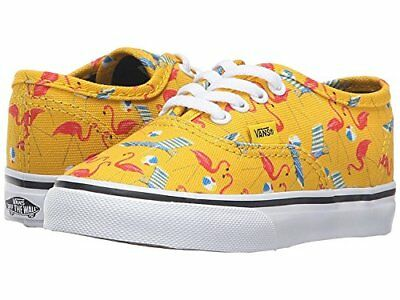 3ef1cb7a138 VANS AUTHENTIC POOL Vibes Cyber Yellow Toddler Baby Shoes Size 10 US ...