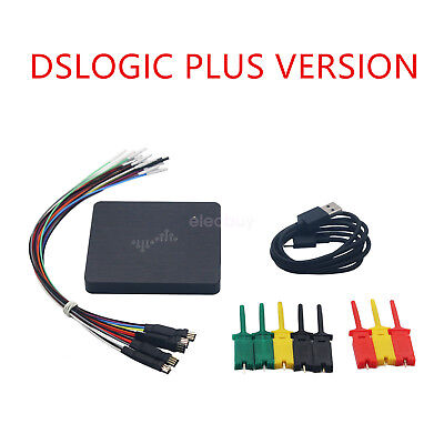 New Updated DSLogic Logic Analyzer DSLogic Plus 16CH 50M Sampling Stream 16G