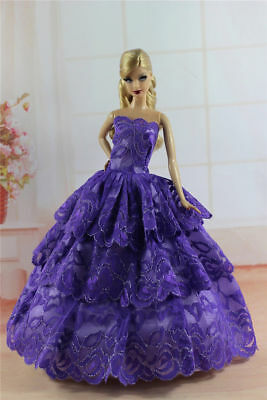 Fashion Princess Party Dress/Evening Clothes/Gown For 11.5in.Doll Y344U