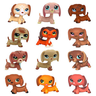 DACHSHUND Monopoly V2 Littlest Pet Shop dog toys LPS dog #1751