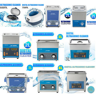 Digital Stainless Ultrasonic Ultra Cleaner Bath Tank Timer Wash Cleaning Machine