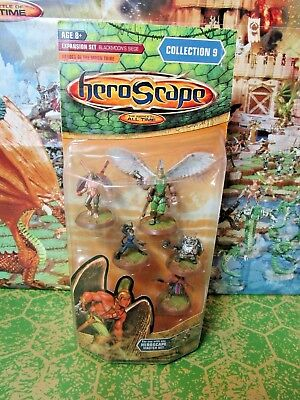 Heroscape Heroes of the Moon Tribe NIB from Wave 9 Blackmoon's Siege