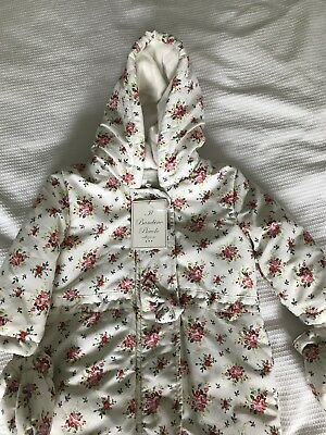 Baby Girls Floral Snowsuit