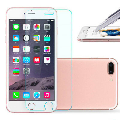 4pcs Ultra Clear Tempered Glass Screen Protector For iPhone 6S/7/8 Plus/5S/SE LM