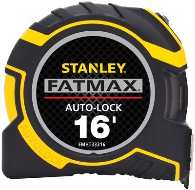 New Stanley FATMAX 16-ft Auto Lock Tape Measure