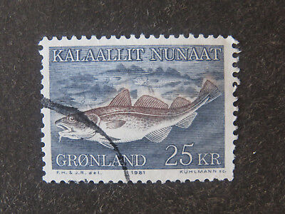 Greenland 1981 Fish High Value - Used - High CV