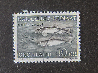 Greenland 1986 Fish High Value - Used - High CV