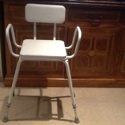DISABLED SHOWER chair - £8.25 | PicClick UK