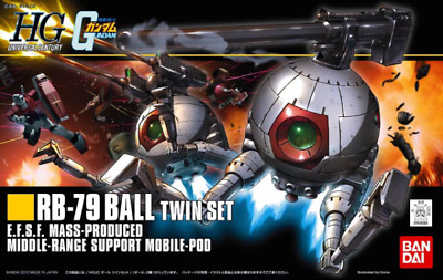 1/144 Hguc Rb-79 Ball Twin Set