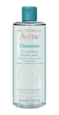 Avène Cleanance Micellar Water 400 ml - Sensitive, Oily, Blemish-Prone Skin