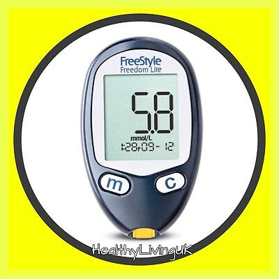 FreeStyle Freedom Lite Blood Glucose Meter -Single Unit Meter Only
