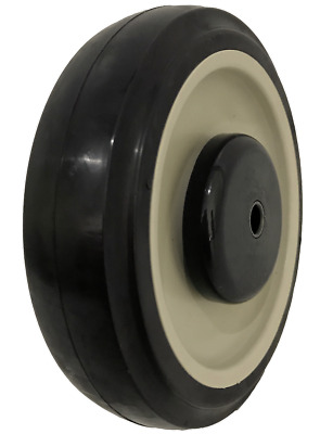 "Replacement Shopping Cart Wheel - 5"" x 1-1/4"" Polyurethane Wheel Only"