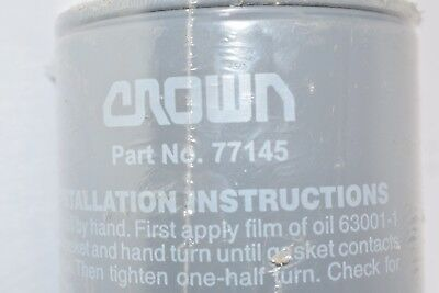 "New Crown 77145 1"" Npt Fitting Hydraulic Filter"