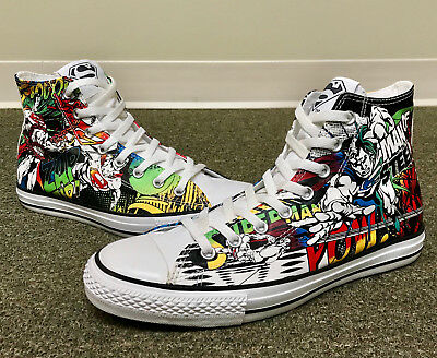 a496977bf7163f Rare Converse All Star Chuck Taylor DC Comics Superman High Top Shoes Worn  Once!