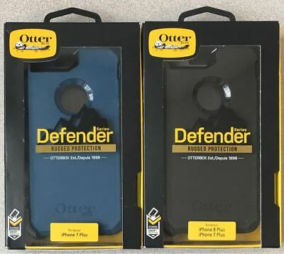 Original Otterbox Defender Case for Apple iPhone 7 Plus & iPhone 8+ w/ Holster #