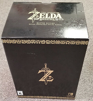 Legend of Zelda Breath of the Wild MASTER Edition New SEALED for Nintendo Switch