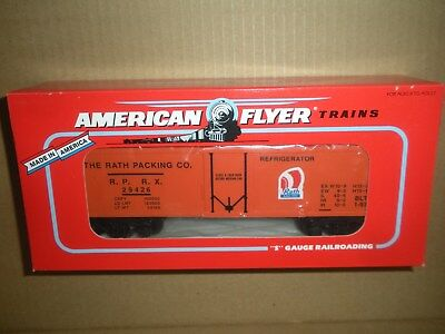 American Flyer by Lionel S Scale 6-48317 Rath Packing Refrigerator Car  NEW