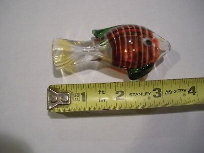 Fish TOBACCO Smoking Pipe Herb bowl Glass Hand Pipes KS21