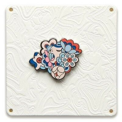 Figaro James Jean Bouquet Pin Limited Lapel Collectible Japanese Murakami