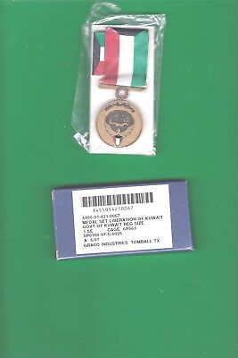 Us Liberation Of Kuwait Medal Issue Box 5/97