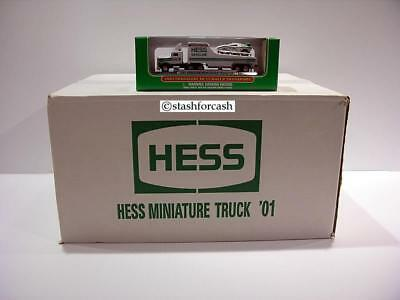 2001 Hess Mini Truck & Racers - Case of 24!