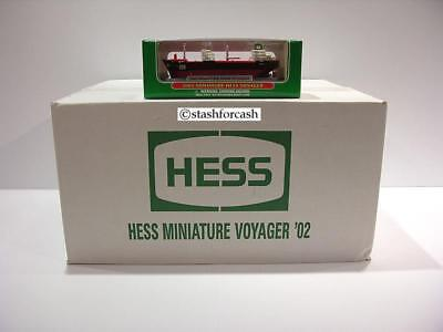 2002 Hess Mini Voyager - Case of 24!