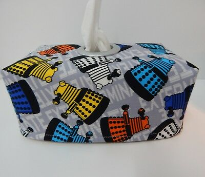 Dr Who - Daleks Tissue Box Cover With Circle Opening - Gorgeous!