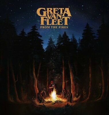 Greta Van Fleet - From the Fires BRAND NEW CD