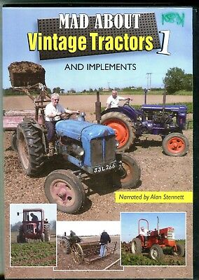 Mad about Vintage Tractors DVD