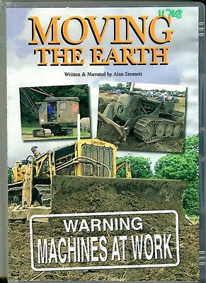Moving the Earth, old earthmoving machinery DVD