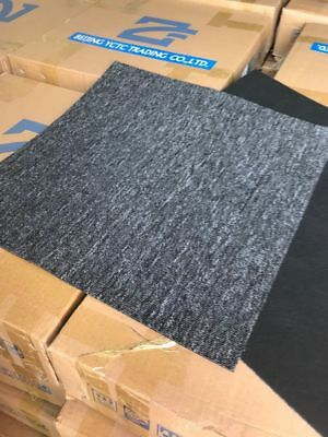 Carpet Tiles - Dark Grey and Black - approx 5000+ - 50x50cms selling by box (#32