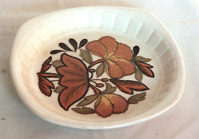 Small 1970s Lotus Blossom Preserve Dish - Royal Worcester Palissy
