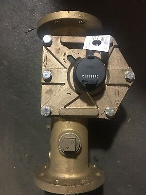 """Elster 4"""" S2000 Meter Direct Reading Cubic Feet"""