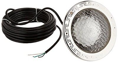 78428100 amerlite underwater incandescent pool light with stainless steel face