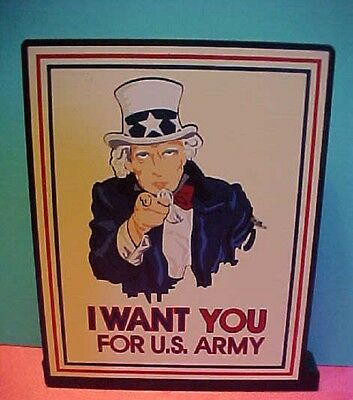 Shelia's Collectibles   Sheila's Uncle Sam I Want You  For US Army