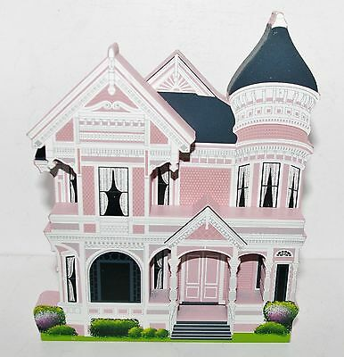 Shelia's Collectibles  Houses  PINK LADY HOUSE Queen Anne Victorian CA