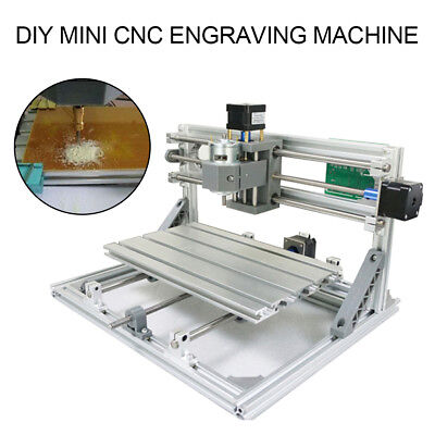 Mini 3 Axis DIY CNC 3018 Engraving Machine Pcb Milling Wood Carving Router Tool