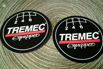 Lot of 2 Tremec Shifter Ball Racing Decals NHRA NASCAR Hot Rod Chevy Ford TKO