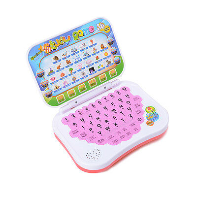 Baby Computer Laptop Tablet Toy Children Educational Learning Machine Toy GX