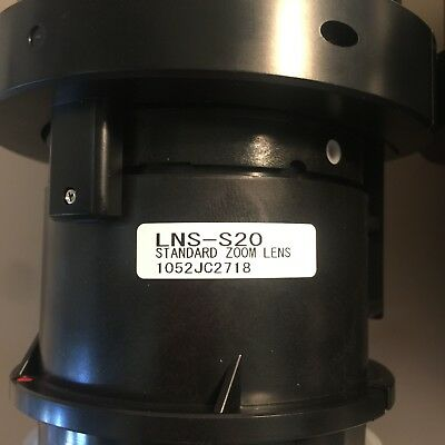1 x NEW Sanyo - Panasonic LNS-S20 Standard Zoom Projector Lens - 2 Available
