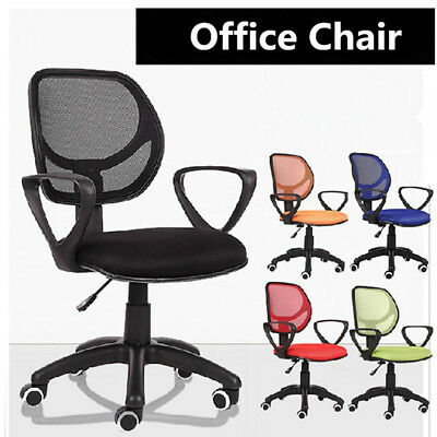 Adjustable Swivel Executive Office Computer Desk Chair Mesh Task Chairs Seat