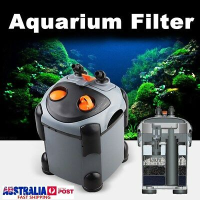 Aquarium CF External Water Filter Fish Tank Booster Cannister Sponge Filtration