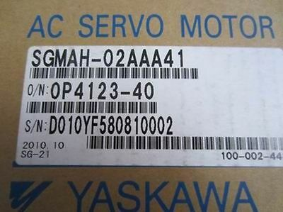 Yaskawa servo motor SGMAH-02AAA41 NEW  (by DHL or EMS)