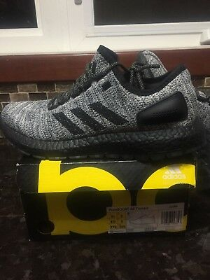 check out 34a53 07a14 Adidas Mens Pure Boost All Terrain Black Shoes Sneakers Size 9.5 US Brand  New