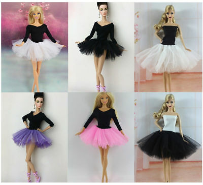 New 4 PCS Fashion Handmade Ballet Dress/Clothes/Outfit For 11.5in.Doll Y04