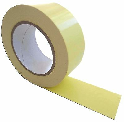 Carpet Adhesive Tape Double Sided 50mm x 25 M Fabric Strengthened Tear-Resistant