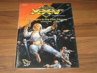 Buck Rogers in the 25th Century Adventure XXVCS3 TSR 3563 New Sealed