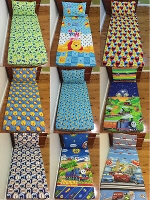 New Minion, Cars, Thomas The Tank, Elmo, Pooh, Dinosaur Cot fitted sheet +p/c