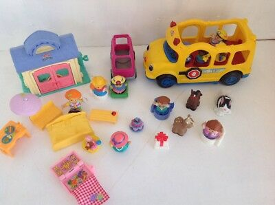 FISHER PRICE LITTLE PEOPLE BULK LOT Various