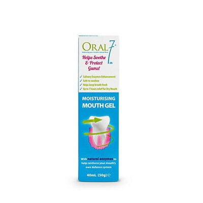 NEW Oral Seven Mouth Gel Moisturizing Natural Enzymes Reinforce Defence 50g